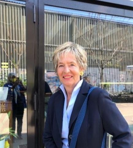 Governor Christine Winkler Unterberg auf dem Weg ins neue Amt