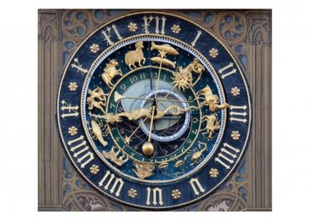 Astronomische Uhr am Rathaus Ulm / Horloge astronomique de l'hôtel de ville d'Ulm / Bild: H.Lienhard
