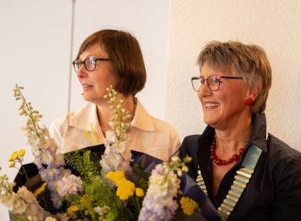 Scheidende und antretende Governor / Les Gouverneurs sortant et entrant : Barbara Blanc et Hanna Lienhard